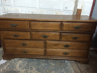 Solid Maple 8 Drawer Dresser