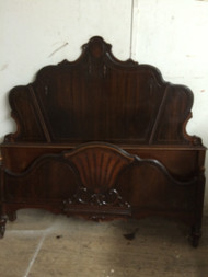 Antique Full Size Depression Era Bed
