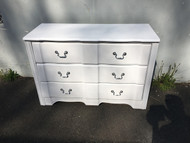Shabby Chic White French Provincial 3 Drawer Dresser
