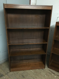 MCM Walnut 3 Shelf Bookcase