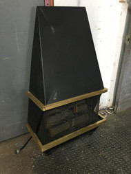 Vintage Mid Century Electric Fireplace