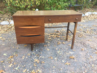 Mid Century Modern Pencil Leg Desk