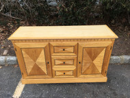 Blonde Inlaid Dining Room Buffet
