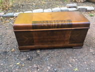 Art Deco Waterfall Cedar Chest