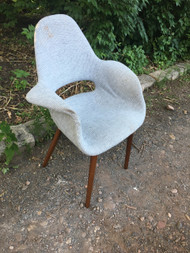 Mid Century Modern Shell Chair