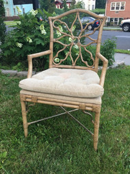 Rattan Style Arm Chair