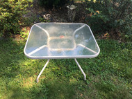 Small Square Glass Patio Table