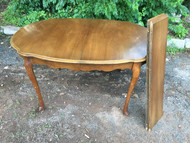 French Provincial Cherry Dining Room Table  w/ 2 leaves
