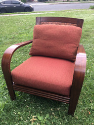 Arched Arm Lounge Chair