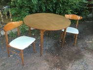 "Mid Century Modern ""Roommates by Baumritter"" Table and Chair Set"