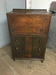 Antique Art Deco 5 Drawer Dresser