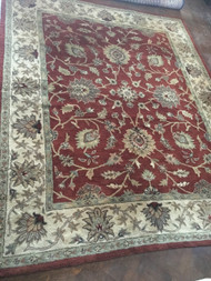Kaleen Bombay Dream Red/Sand 8x10 Area Rug