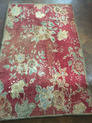 Red Area Rug 5' x 8'