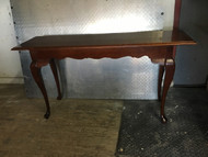 Solid Cherry Queen Anne Sofa Table