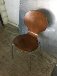 Mid Century Modern Bentwood Accent Chair