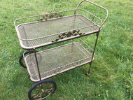 Iron Serving Cart