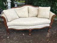 Ethan Allen French Provincial 6FT Sofa
