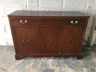 Antique Mahogany Buffet Cabinet