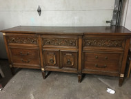 Traditional 9 Drawer Cherry Dresser