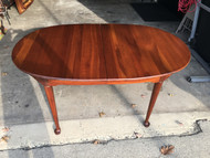 Solid Cherry 5ft Oval Dining Table