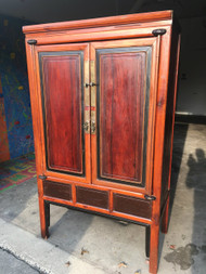 Asian Influence Armoire / Media Cabinet