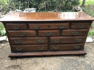 Solid Cherry 10 Drawer Dresser