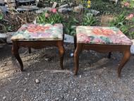 Pair of Ethan Allen Queen Anne Cherry Benches