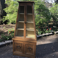 Vintage Tapered Display Cabinet / Etagere