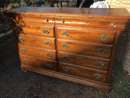 Kincaid 10 Drawer Cherry Dresser