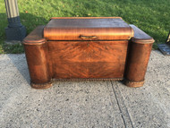 Unique Antique Art Deco Cedar Chest