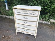 Vintage French Provincial 4 Drawer Dresser