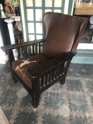 Antique Mission Oak Arm Chair