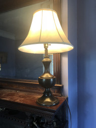 Brown Table Lamp w/ Shade