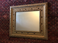 Antique Ornate Gold Framed Mirror