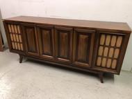 Vintage Modern Walnut Hi-Fi Media Stand