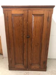 Antique Pine Wardrobe / Armoire
