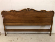 King Size French Provincial Cherry Bed
