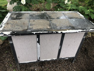 Aluminum Stone Top Patio Bar