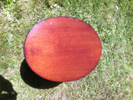 Cherry Oval Side Table