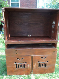 Primitive Pine Cupboard