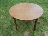 "40"" Round Sugar Maple Table"