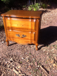 Cherry French Provincial End Table