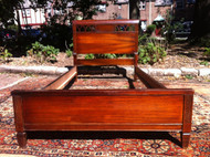 Mahogany Twin Bed