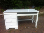 White Computer Desk by Stanley
