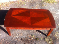 Cherry Inlaid Coffee Table