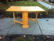 Skinny Modern Drop Leaf Table
