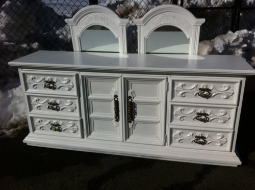5pc shabby chic bedroom set by drexel forgotten furniture