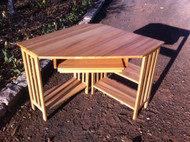 Light Maple Corner Desk