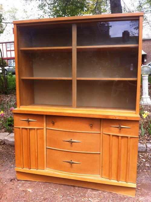 Vintage 1960 S Dining Room China Cabinet Forgotten Furniture
