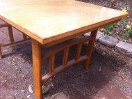 Vintage 1960's Dining Room Table w/ 3 Chairs